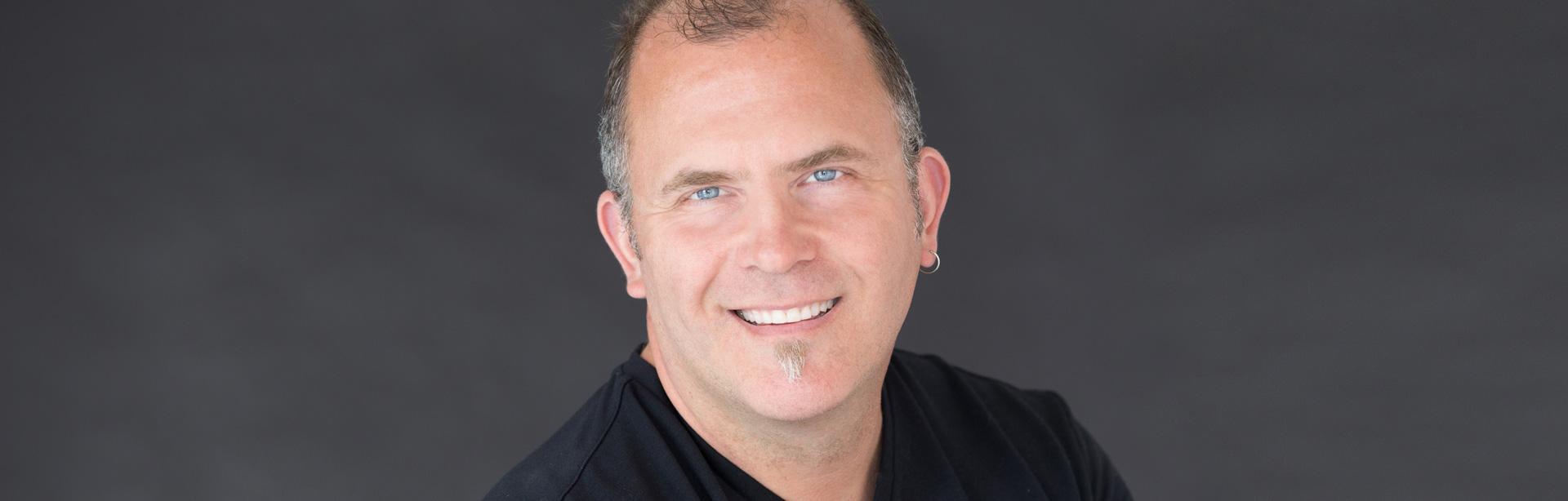 Stephen Mackey, author of Dream Build Believe